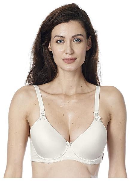 Noppies Sujetador premamá y de lactancia - para mujer creme (ivory) 100B