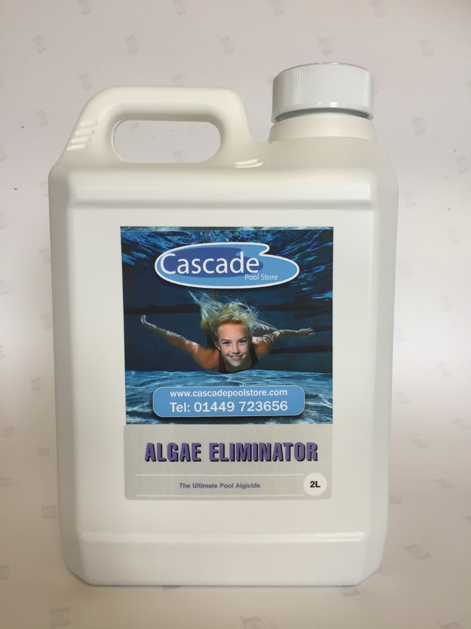 Cascade Pools ALGAE ELIMINATOR 2L - SWIMMING POOL ALGICIDE (FREE DELIVERY)