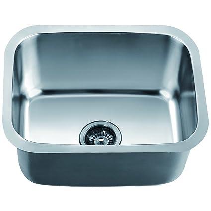 Dawn asu103 undermount single bowl sink polished satin single dawn asu103 undermount single bowl sink polished satin workwithnaturefo