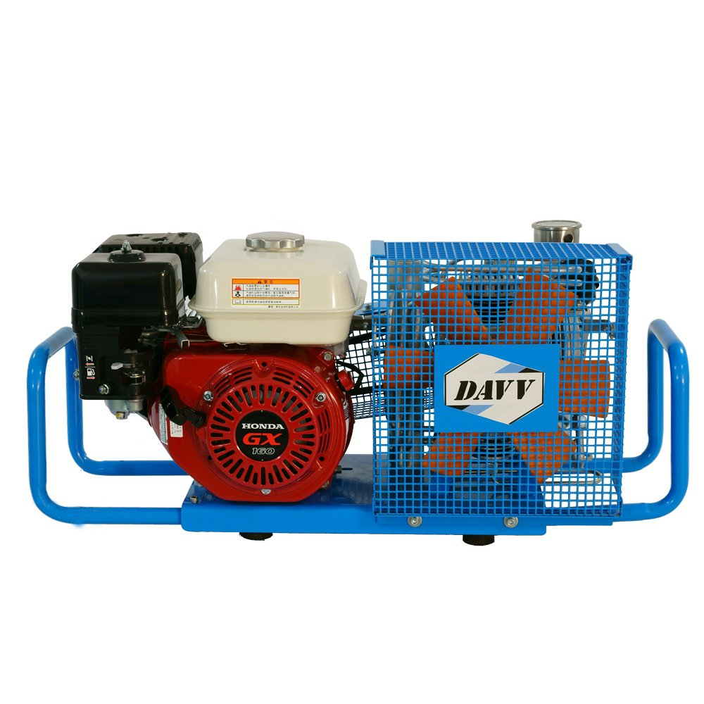 D Machinery 100L/Min 5.5-HP Honda Gas-Powered Air Compressor 4500psi Gasoline Drive Air Filling Station, SCU100P
