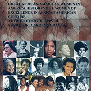 Great African-American Women in America History Audiobook