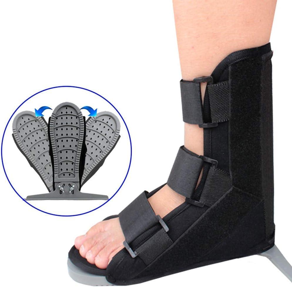 QAZXCV Fracture Walker Boot, Zapatos médicos antirrotación, Zapatos en T fijos en el Tobillo, Zapatos de Yeso para fracturas ortopédicas, para la recuperación postoperatoria del pie