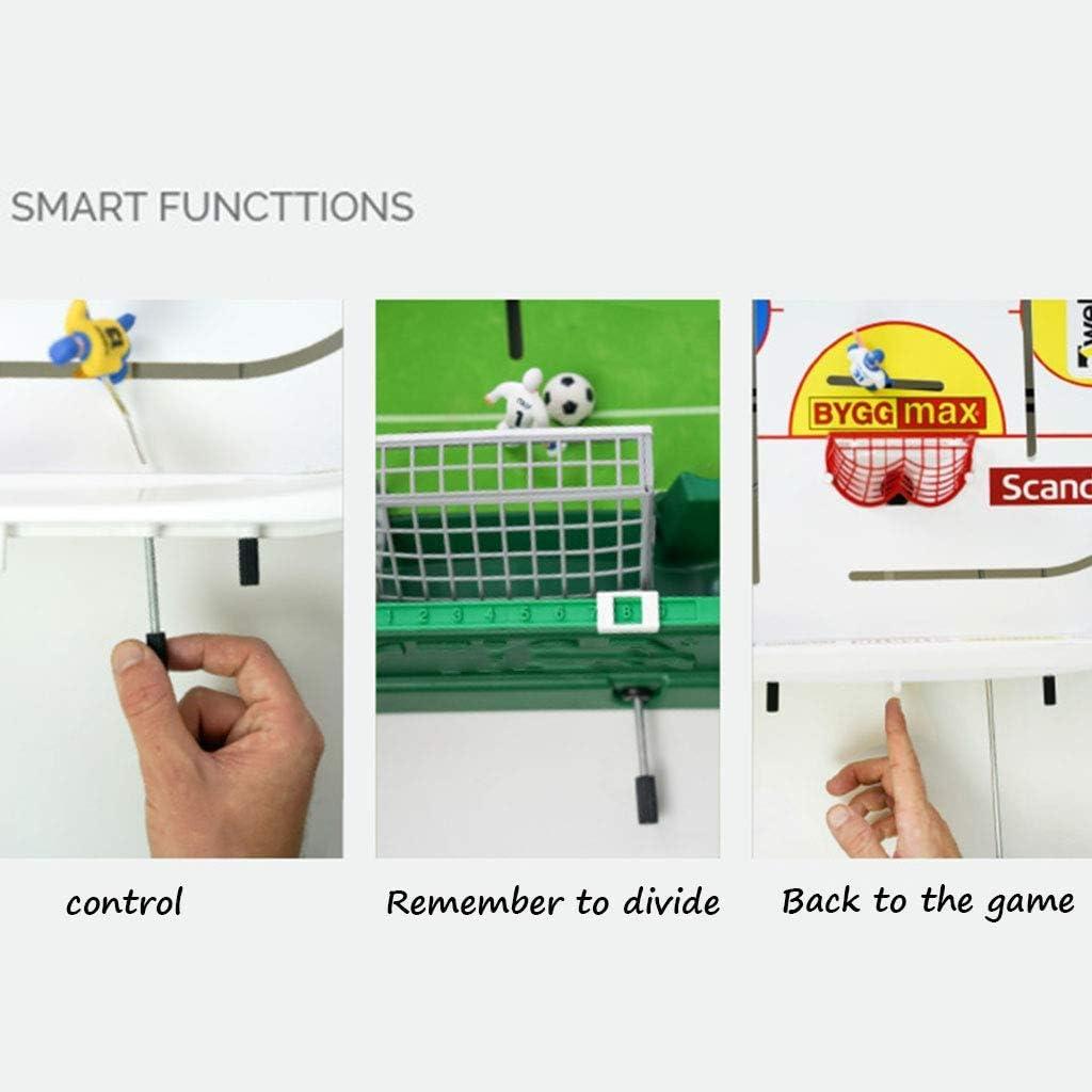 JKLL Mesa Profesional de futbolín: diseño de fútbol clásico, fácil de Construir, la Mesa más Segura for niños y Adultos: Amazon.es: Deportes y aire libre