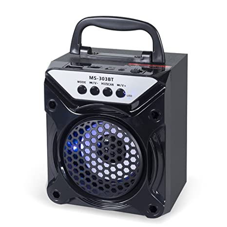 Amazon.com: docooler ms-303bt portátil BT altavoz ...