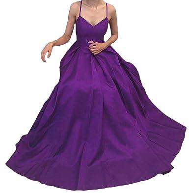 Dressesonline Womens Spaghetti Straps A-line Prom Dresses Evening Dress Long US12