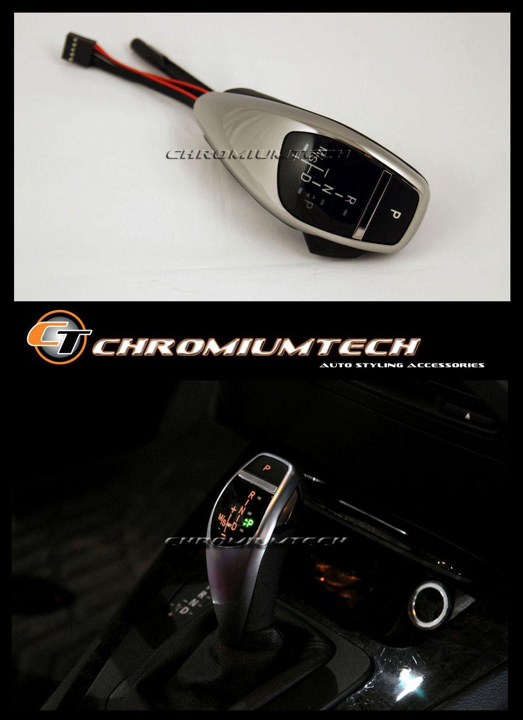 Racing Dash SG-E63LED-R-BK LED Gear Shift Knob