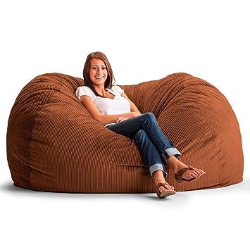 Original Fuf Chair 6 Ft Xl Wide Wale Corduroy Bean Bag Sofa