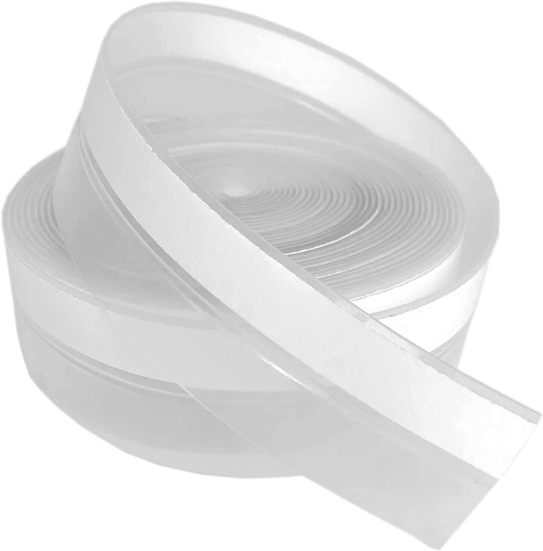 ZFUMIZ Silicone Seal Strip,Door Bottom Sealing Strip,Adhesive for Doors and Windows,Windbreak Sticker,Sound Insulation Sealant,Weather Stripping Transparent