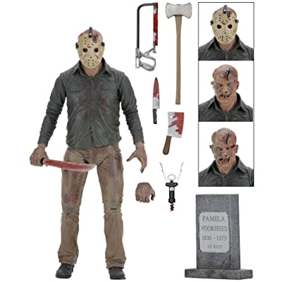 "NECA - Friday the 13th - Ultimate Part 4 Jason 7"" Action Figure: Toys & Games"