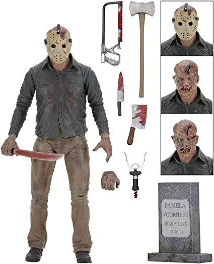 """Neca Friday the 13th Part 2 film Jason Voorhees Ultimate 7/"""" Scale Action Figure"""