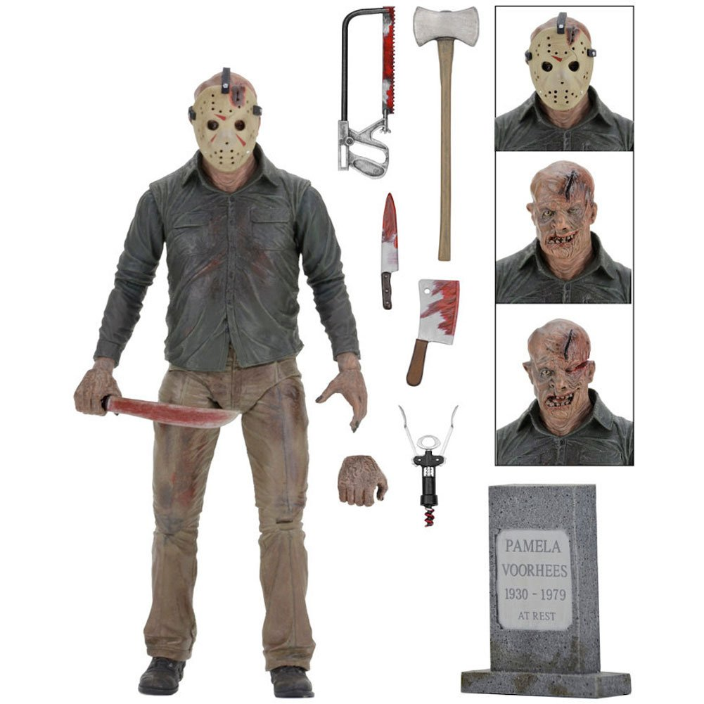 NECA Friday the 13th Ultimate Part 4 Jason 7 Action Figure
