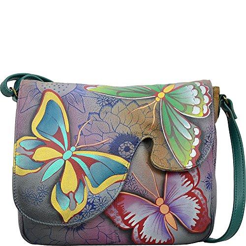 Anuschka Anna Handpainted Leather Women's Convertible Shoulder Bag by ANUSCHKA