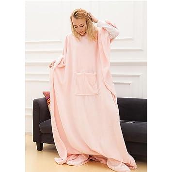 Snuggle Decke Mit ärmeln.Angelprice Fleece Snuggle Tv Decke Mit Armeln Pocket Und Fuss