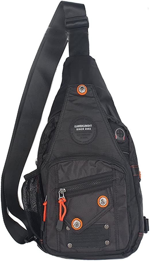 Street Fighter King Sagat Muay Thai Training Camp Backpack Daypack Rucksack Laptop Shoulder Bag with USB Charging Port