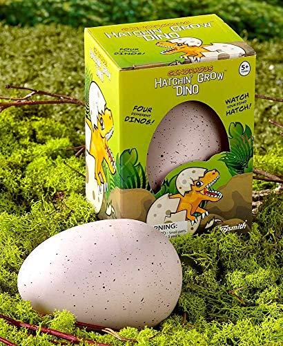 Set of 2 Ginormous Hatchin' Grow Dino Eggs