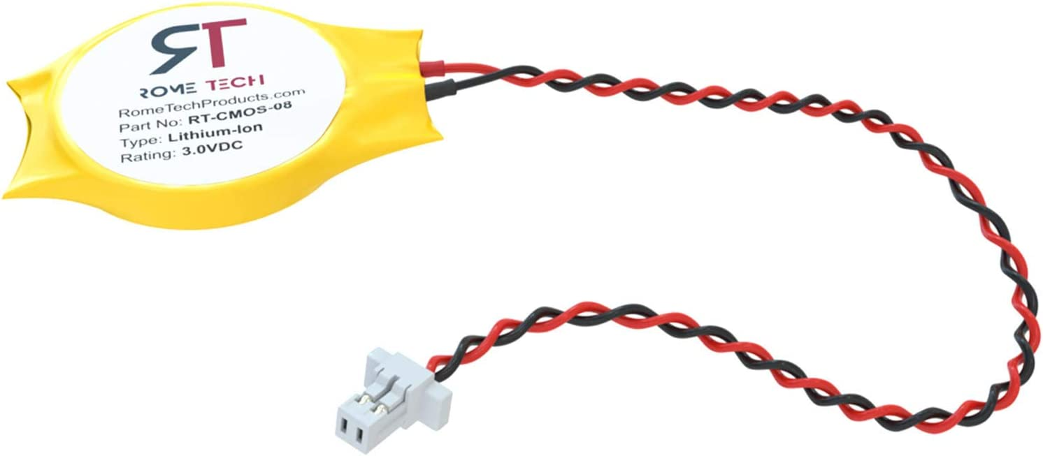 RTC CMOS Battery for Acer Aspire 8930 8930g 9800 9810 9900 9910 9920 9930 - BIOS CR2032 Battery with 2 Pins / 2 Wires Cable