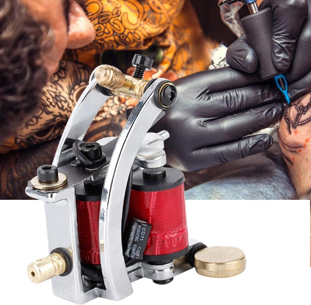 Máquina profesional de tatuaje, máquina de tatuaje de aleación ...