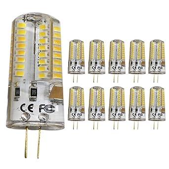 10pc 5 W G4 LED Lámpara perlas, Repuesto para bombilla halógena de 50 W, 320lm, ...