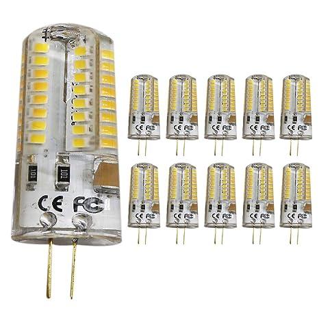 10pc 5 W G4 LED Lámpara perlas, Repuesto para bombilla halógena de 50 W,