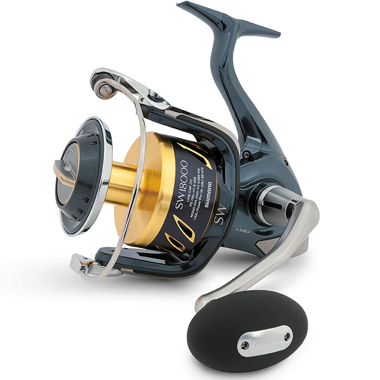 Shimano Stella SW STL5000SWBPG Spinning Fishing Reel, Gear Ratio: 4.6:1