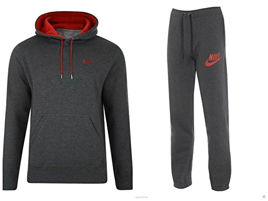 magasin d'usine 36e2d 5f757 Details about Full Tracksuit Nike Mens Homme Fleece Hooded ...