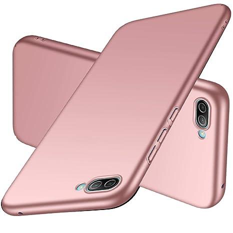 codice promozionale 1303c 546b3 Daynew® Cover Huawei Y5 2018,Custodia Huawei Y5 2018[Supporta la Ricarica  Wireless][Anticaduta,Antiscivolo,Antigraffio][Ultra Sottile][PC Materiale  ...