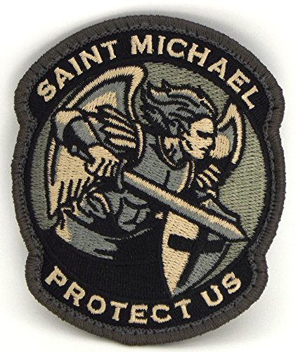 Saint Michael Modern Morale Patch (ACU (Foliage Green))
