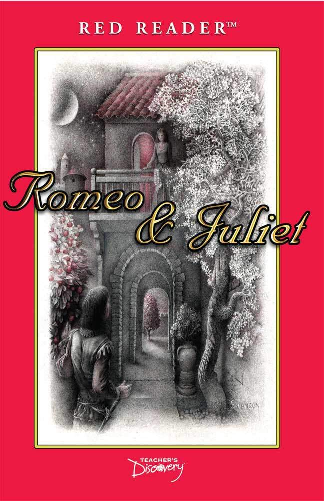 Romeo and Juliet Red Reader ~ Case of 36 by Teacher's Discovery