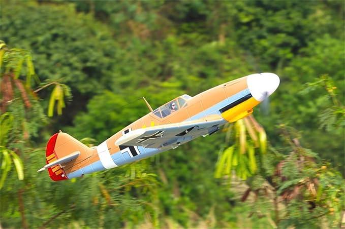 Amazon com: FMS Bf 109 Messerschmitt 1400mm (55 2