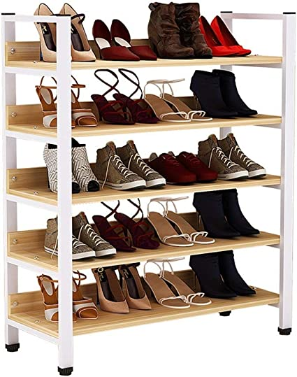 Estanteria Zapatero Rack de zapatos de 5 capas Rack de ...