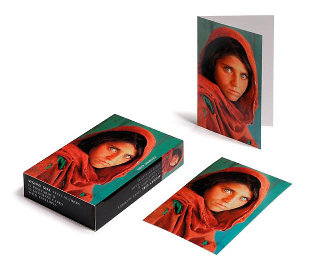 Afghan Girl - Card Box pdf
