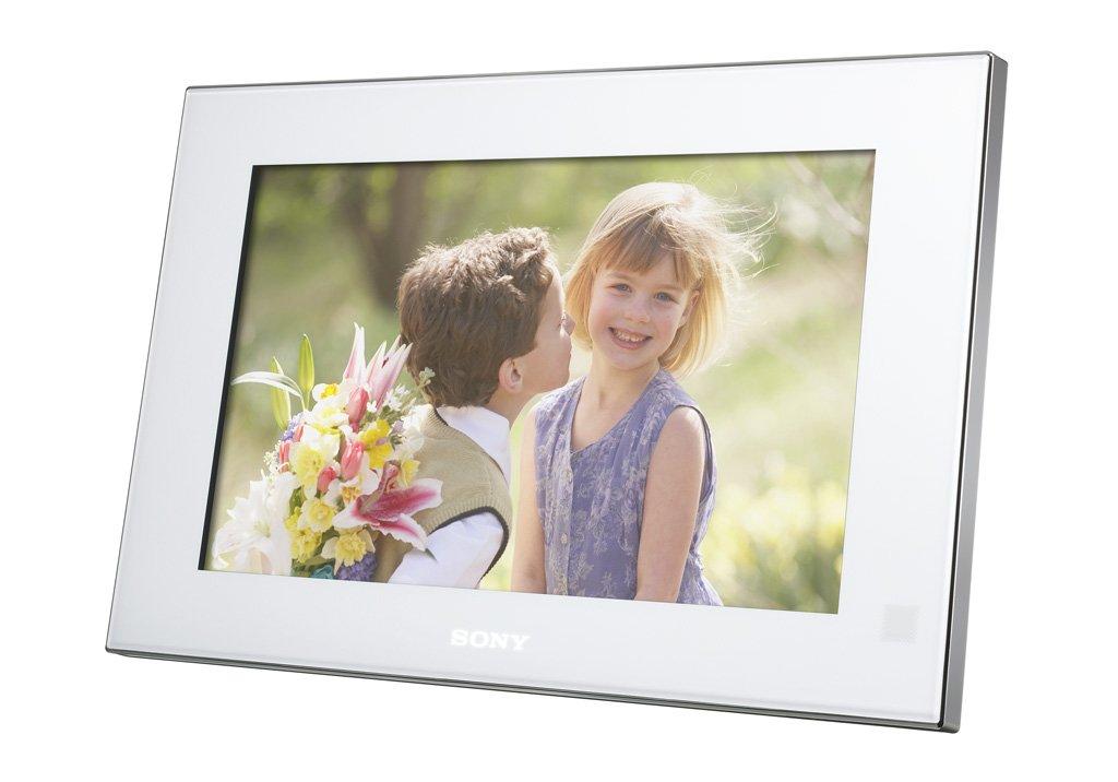 Amazoncom Sony Dpf V900 9 Inch Digital Photo Frame White