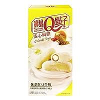 Taiwan Dessert - Mochi Rollitos De Mochi Con Masa De Arroz Sabor A Matcha Relleno De