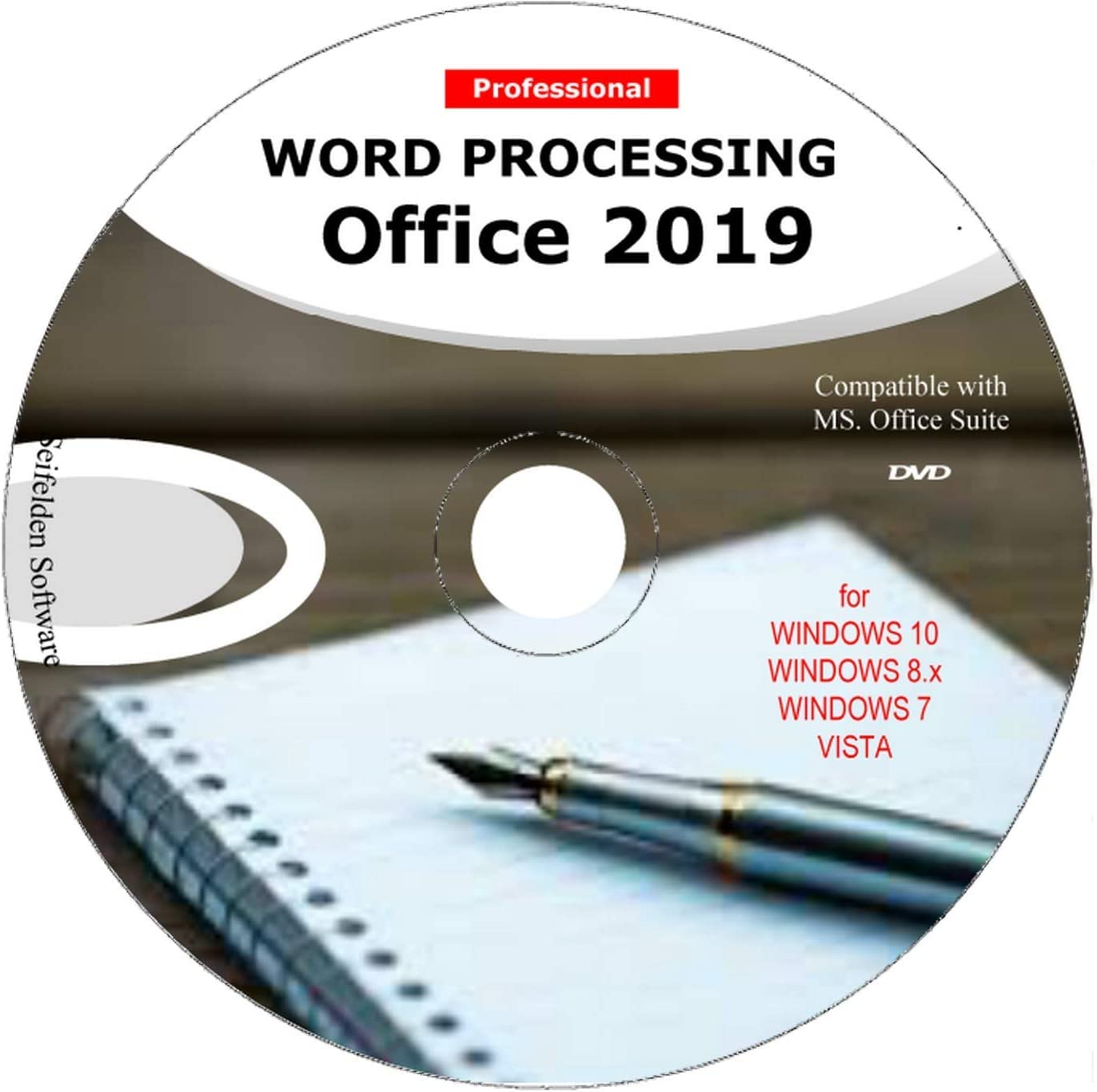 Word Processing Office Suite 2019 Perfect Home Student and Business for Windows 10 8.1 8 7 Vista XP 32 64bit| Alternative to Microsoft™? Office 2016 2013 2010 365 Compatible Word Excel PowerPoint?????