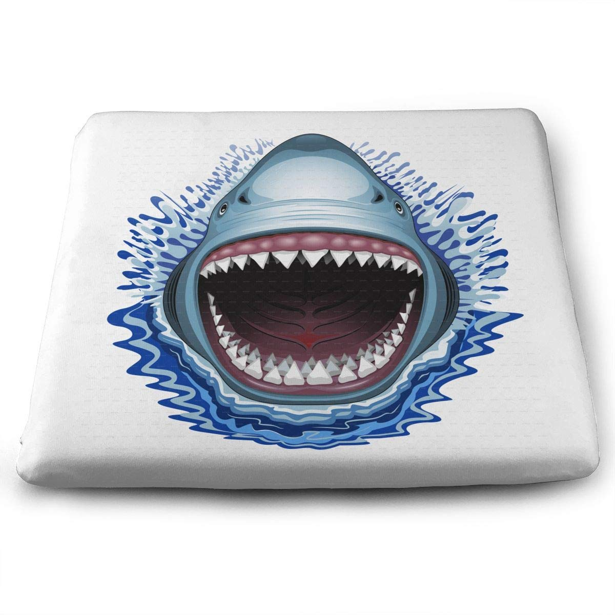Shark Jaws,Home Office Decoration Square Seat Chair Pad Fashion Seat Cushion
