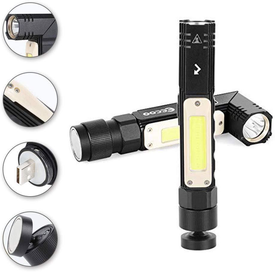 LED Taschenlampe, 800 Lumen Taktische Taschenlampe