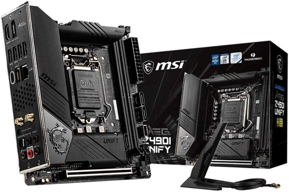 CM MSI *MPG Z490I Unify LGA1200//Mini-ITX *0186