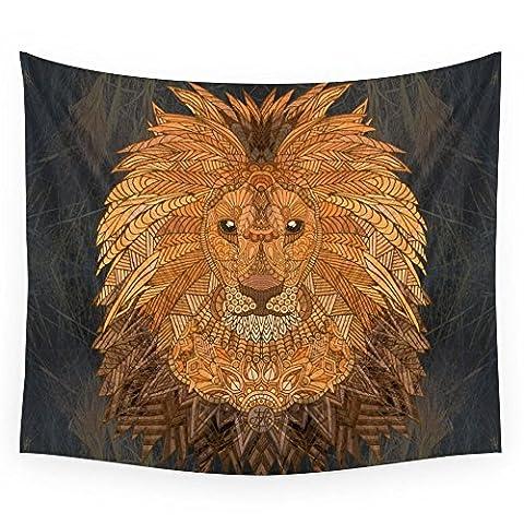 Society6 King Lion Wall Tapestry Medium: 68