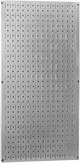 product image for Wall Control Pegboard 32in x 16in Galvanized Metal Pegboard Tool Board Panel