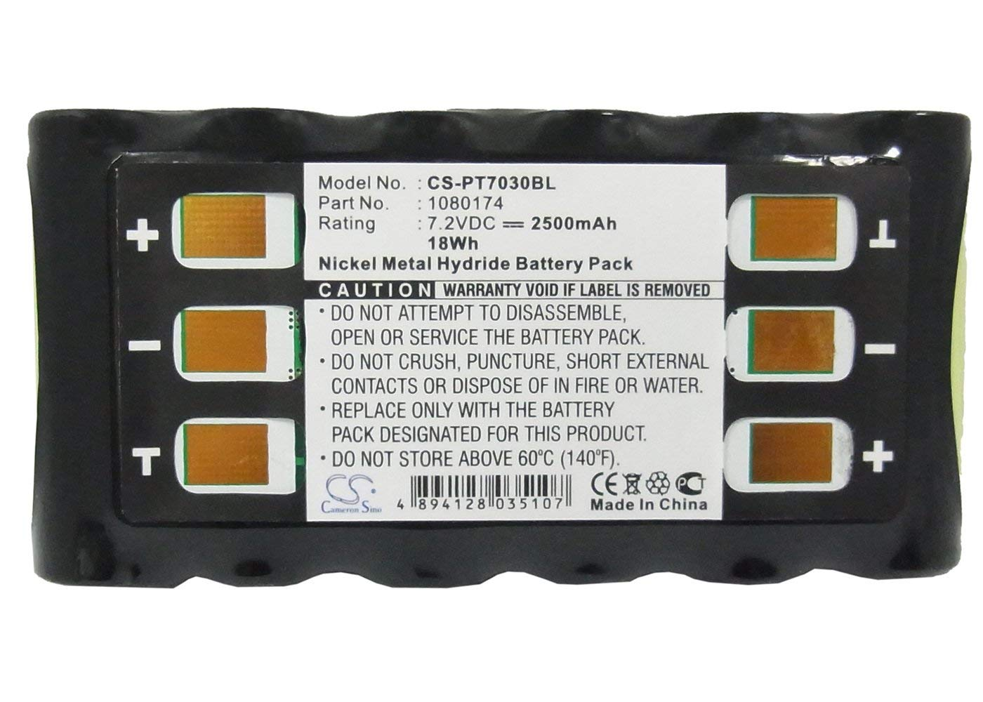 VINTRONS, PSION 1080174 Replacement Battery for PSION 19515, 7030, Teklogix 19505, by VI VINTRONS (Image #5)
