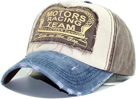 Cnoyz baseball cap Gorra de béisbol Motors Racing Team Vintage ...