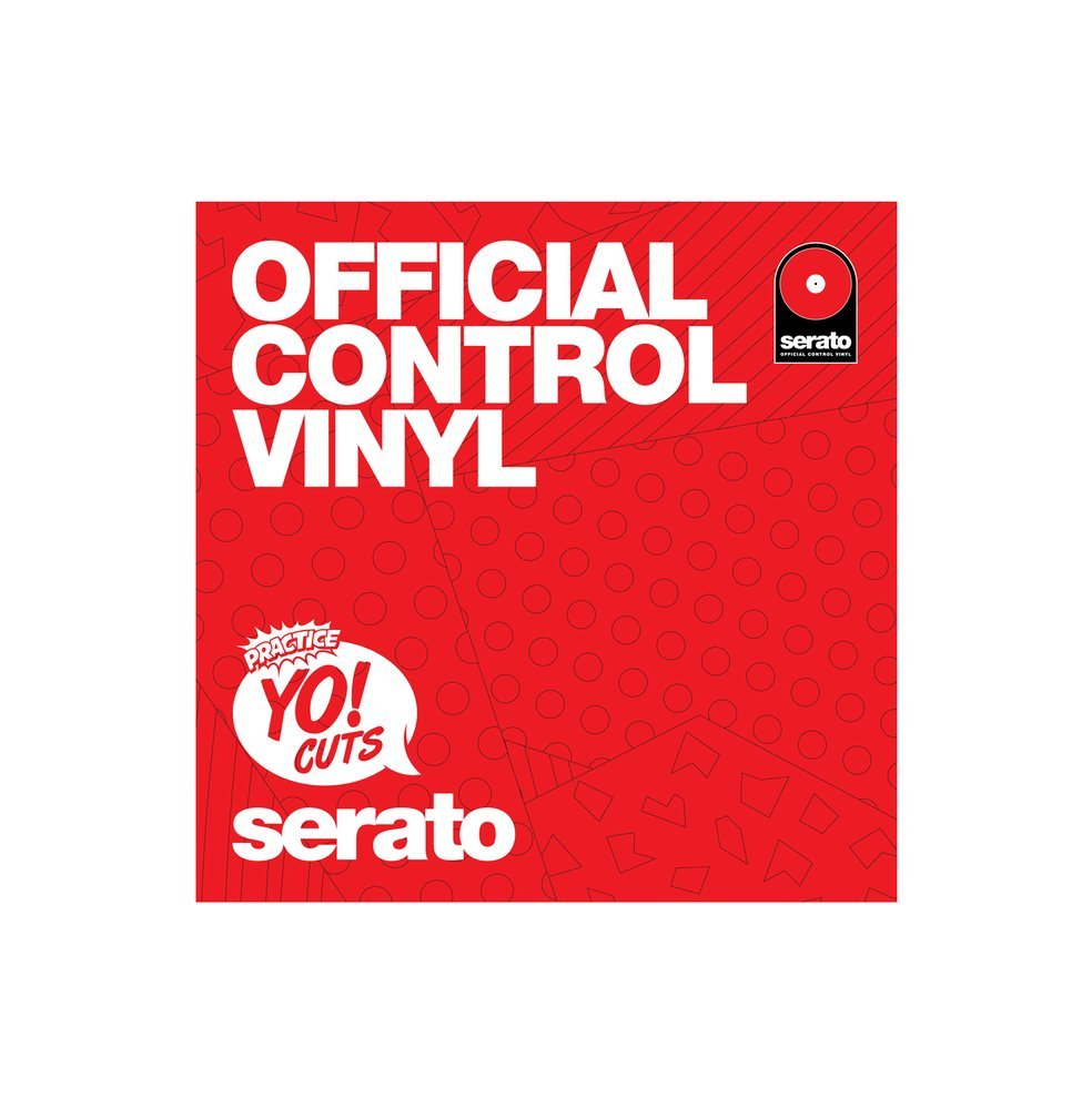 Turntable Training Wax TTW006 - Practice Yo! Cuts Serato 7 Inch Dual Vinyl