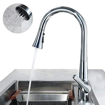 Gut gemocht ubeegol 360°drehbar Küchen Armatur Ausziehbar Küchenwasserhahn CY09