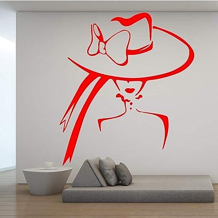 xingbuxin Salón de Belleza Aplicable Tatuajes de Pared Hermosa ...