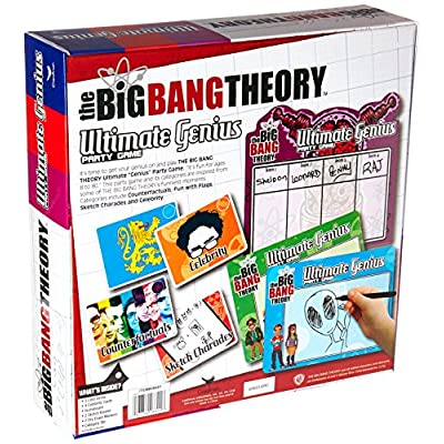 Big Bang Theory Ultimate Genius Party Game: Toys & Games