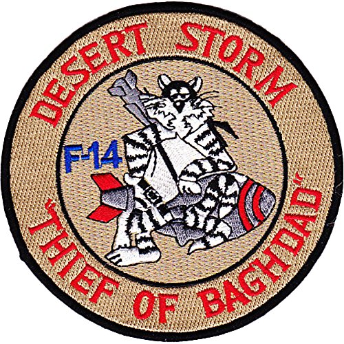 F-14 Patch Desert Storm Thief Of Baghdad