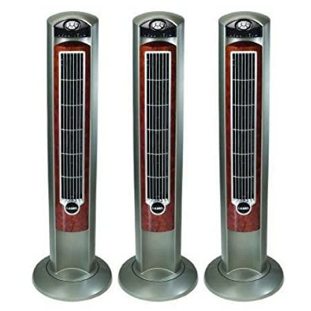 Amazon Lasko WOODGRAIN 42 Tower Fan With All NEW FRESH AIR IONIZER Remote Control Included Home Kitchen