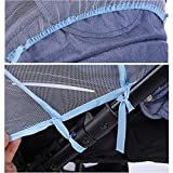 Pram Insect Net Baby Infant Mosquito Net for Stroller and Most Infant Carriers Car Seats Cradles, Soft Durable Insect Shield Netting, Babies Fly Screen Protection Full Cover Mosquito Net, 12048cm