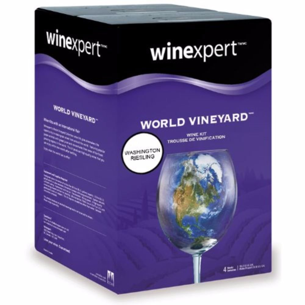 Wine Expert World Vineyard Washington Riesling
