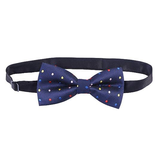 Vosarea - Corbata de Doble Capa para Hombre y niño, Ajustable ...